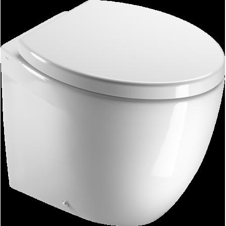 Gsi modo 53 wc scarico a parete bagnolandia for Scarico wc a parete