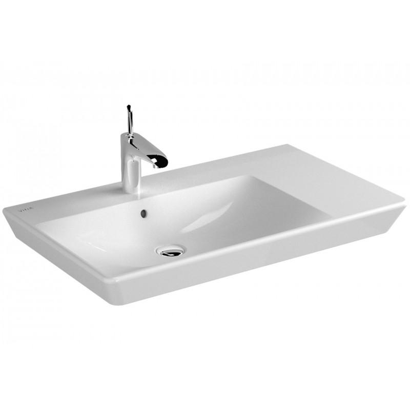 lavabo sospeso moon asimmetrico : Home > Sanitari > Lavabo > VITRA T4 lavabo asimmetrico