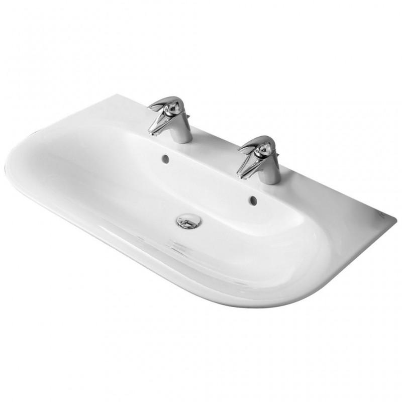 ideal standard tonic lavabo doppio due fori bagnolandia. Black Bedroom Furniture Sets. Home Design Ideas