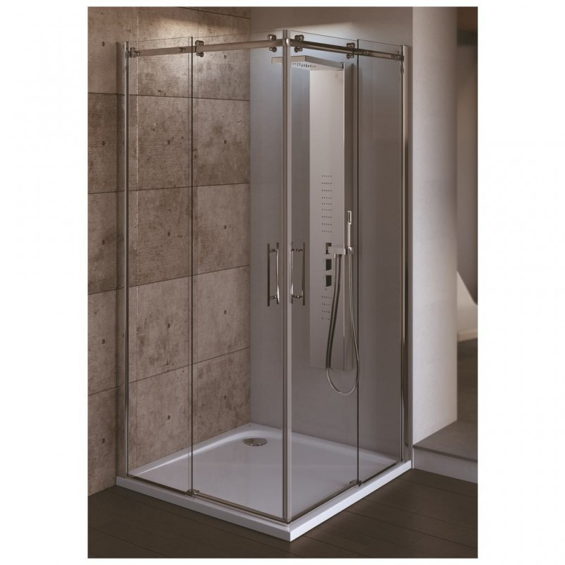 Ideal standard magnum a porta scorrevole per cabina doccia - Porta per doccia ...