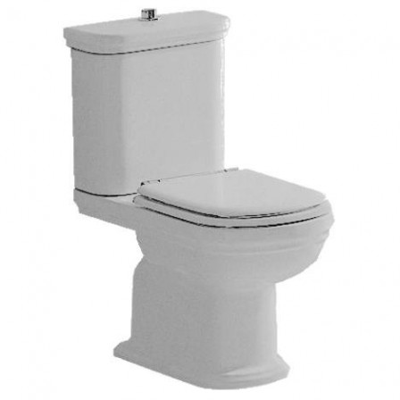 Ideal standard calla wc con cassetta di scarico e sedile for Lunette wc ideal standard