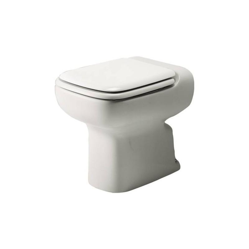 Ideal standard conca wc scarico con sedile bagnolandia for Ideal standard conca