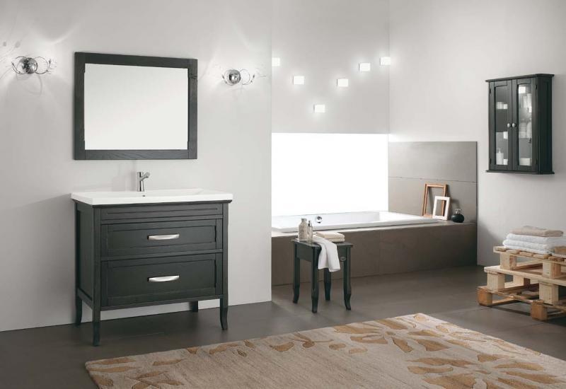 Bagni in legno moderni e rustici bagnolandia - Mobile bagno contemporaneo ...