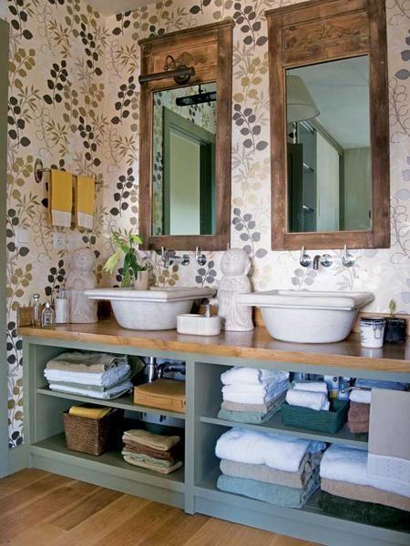Bagno in stile provenzale come arredarlo bagnolandia for Arredamento stile country provenzale