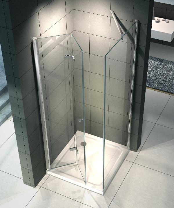 Immagini di box doccia quale tipologia scegliere - Box doccia salvaspazio ...