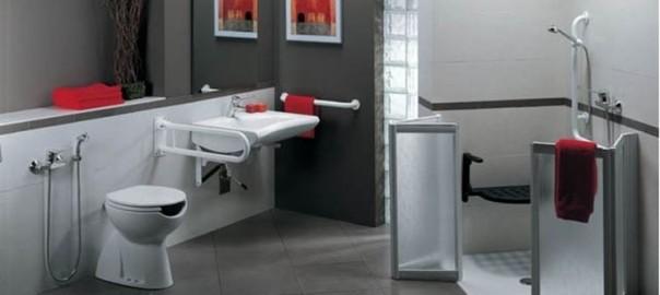 Bagno disabili le misure da rispettare bagnolandia - Misure bagno minime ...