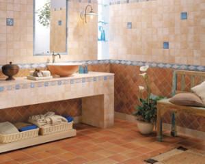 Rivestimenti per il bagno ecco alcune tipologie bagnolandia - Pavimenti per cucina rustica ...