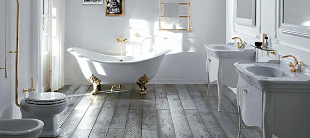 Arredare il bagno in stile vittoriano bagnolandia for Case fabbricate in stile vittoriano