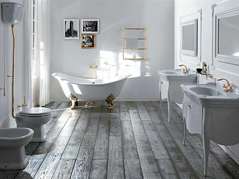 Arredare il bagno in stile vittoriano bagnolandia for Produttori sanitari bagno