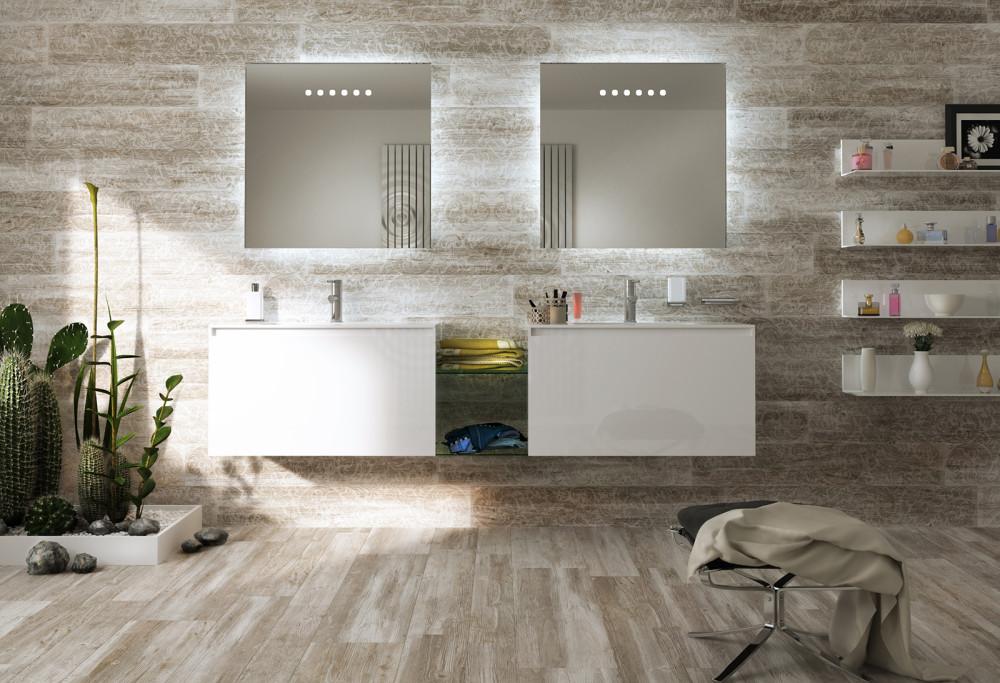 Rivestire il bagno in gres porcellanato bagnolandia - Come rivestire il bagno ...