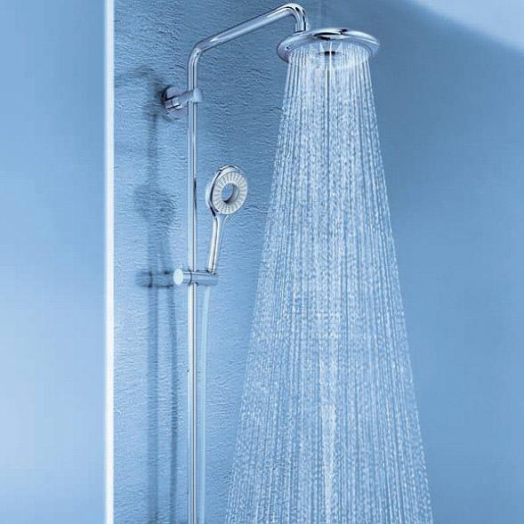 Soffione per la doccia quale scegliere bagnolandia - Muffa nella doccia ...