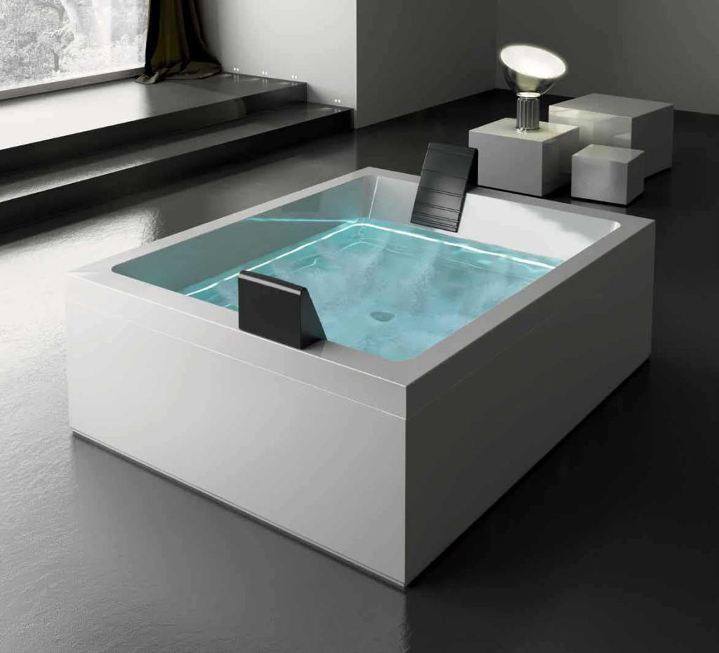 Come funziona la vasca idromassaggio e quale scegliere for Come costruire una vasca incassata