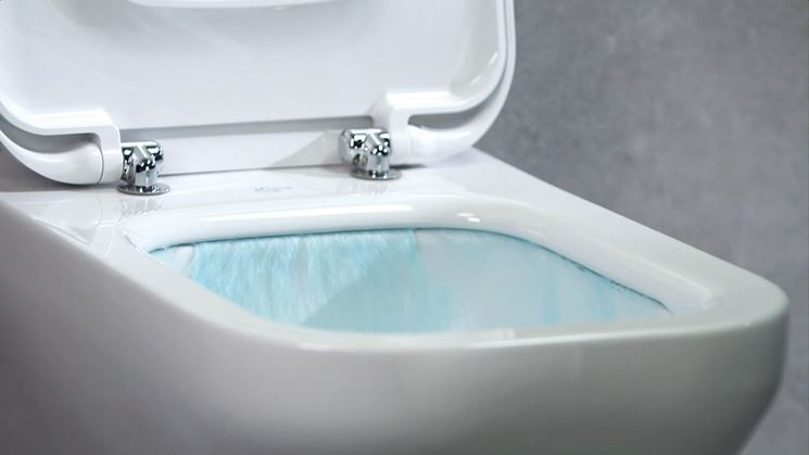 Come togliere calcare e ruggine dal water pulizia del bagno - Pulire il bagno ...
