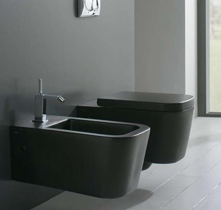 Come scegliere il giusto wc bagnolandia - Sanitari bagno sospesi neri ...