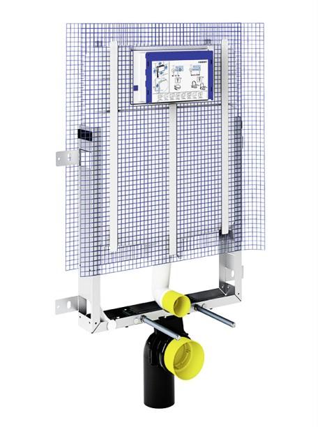 Come montare i sanitari sospesi del bagno bagnolandia - Cassetta scarico wc esterna montaggio ...