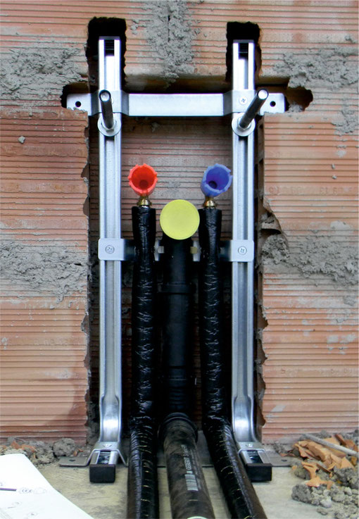 Come montare i sanitari sospesi del bagno bagnolandia - Misure scarichi bagno ...