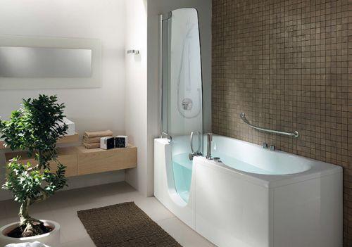 Vasche da bagno in acrilico quali vantaggi bagnolandia - Vasca da bagno e doccia insieme ...