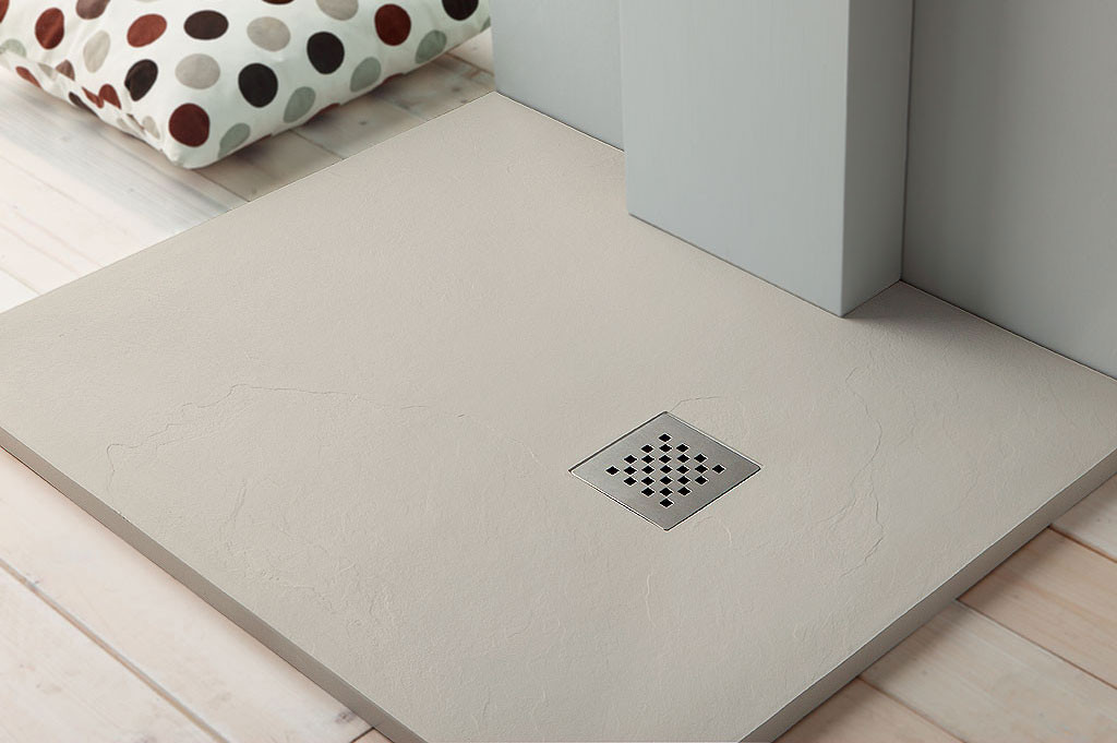Come scegliere il piatto doccia per il tuo bagno bagnolandia - Piatto doccia in pietra ...