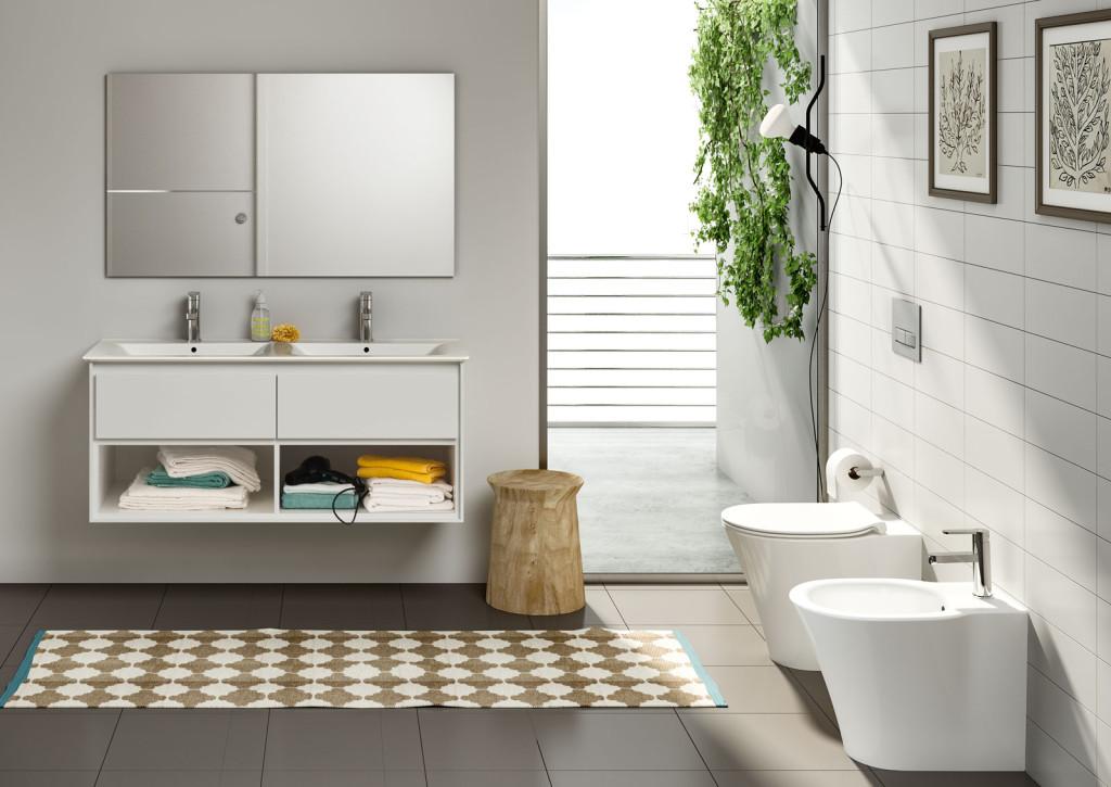 Arredare il bagno con i sanitari Ideal Standard: scelta di ...