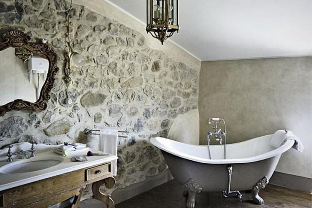 Come realizzare e arredare un bagno rustico bagnolandia