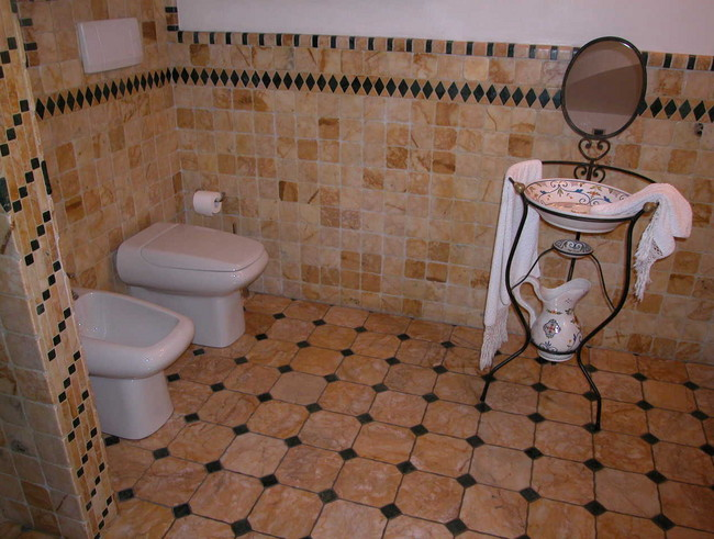 Super Come realizzare e arredare un bagno rustico - Bagnolandia GO83