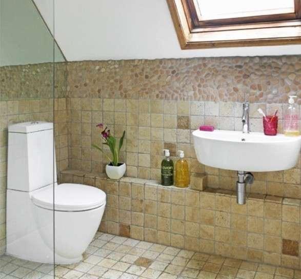 Come realizzare e arredare un bagno rustico bagnolandia - Rivestimento bagno rustico ...