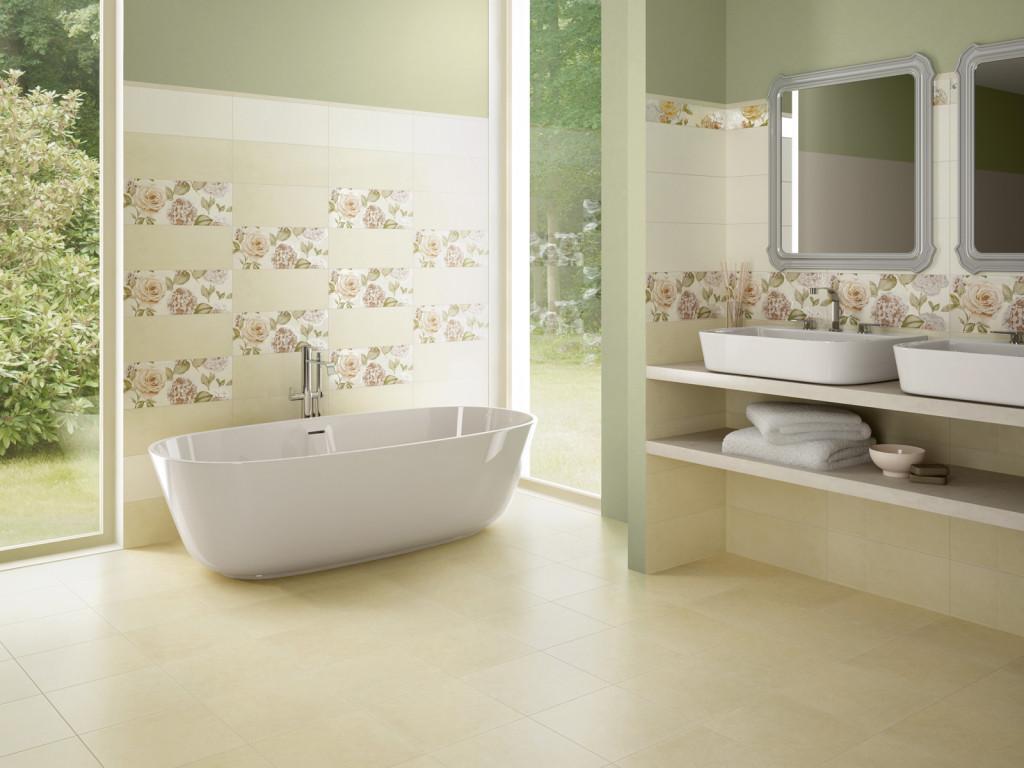 Come scegliere le piastrelle per bagno bagnolandia - Mosaico pavimento bagno ...