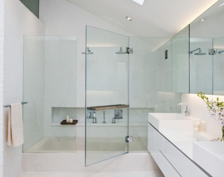 Progetti bagni moderni progetto di un bagno con la serie for Progetti bagni moderni