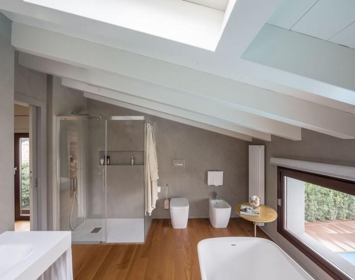 Ristrutturare il bagno nel sottotetto come fare bagnolandia - Progetto ristrutturazione bagno ...