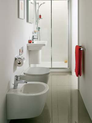Le dimensioni dei sanitari ideali per il tuo bagno piccolo - Ingombro sanitari bagno ...