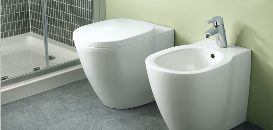 Le dimensioni dei sanitari ideali per il tuo bagno piccolo bagnolandia - Tazza del bagno prezzo ...