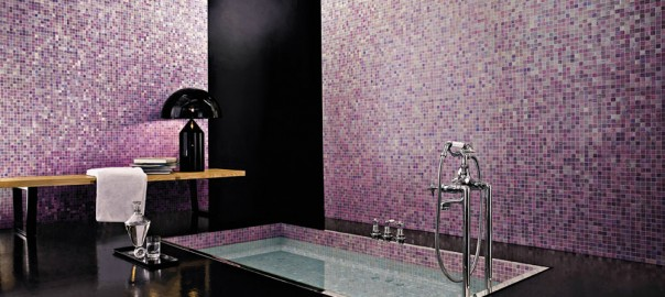 Rivestimento del bagno in mosaico bagnolandia rivestimento bagno economico - Mosaico bagno economico ...