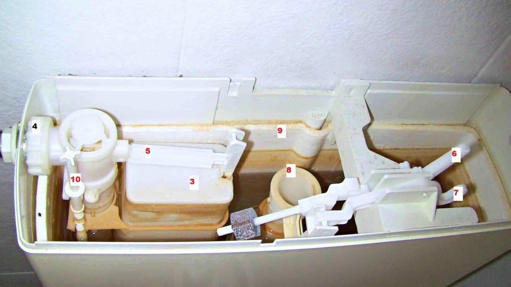 La cassetta wc perde acqua come ripararla bagnolandia - Cassetta scarico wc esterna montaggio ...