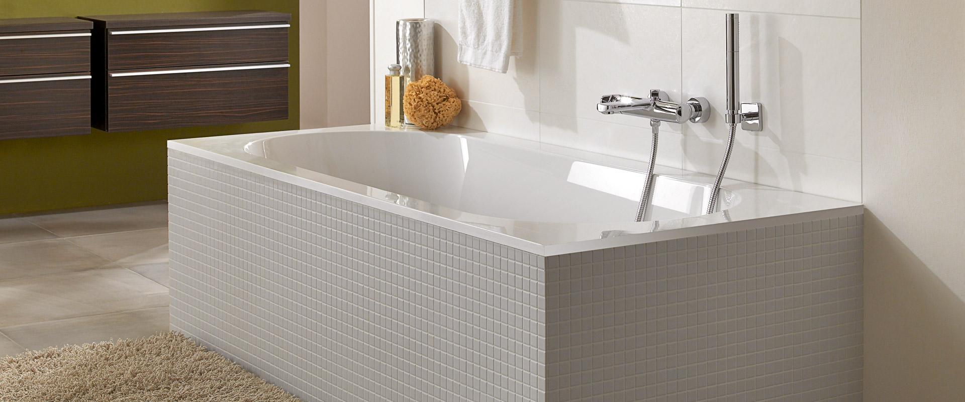 Vasche da bagno villeroy boch come valorizzarle al - Produzione vasche da bagno ...