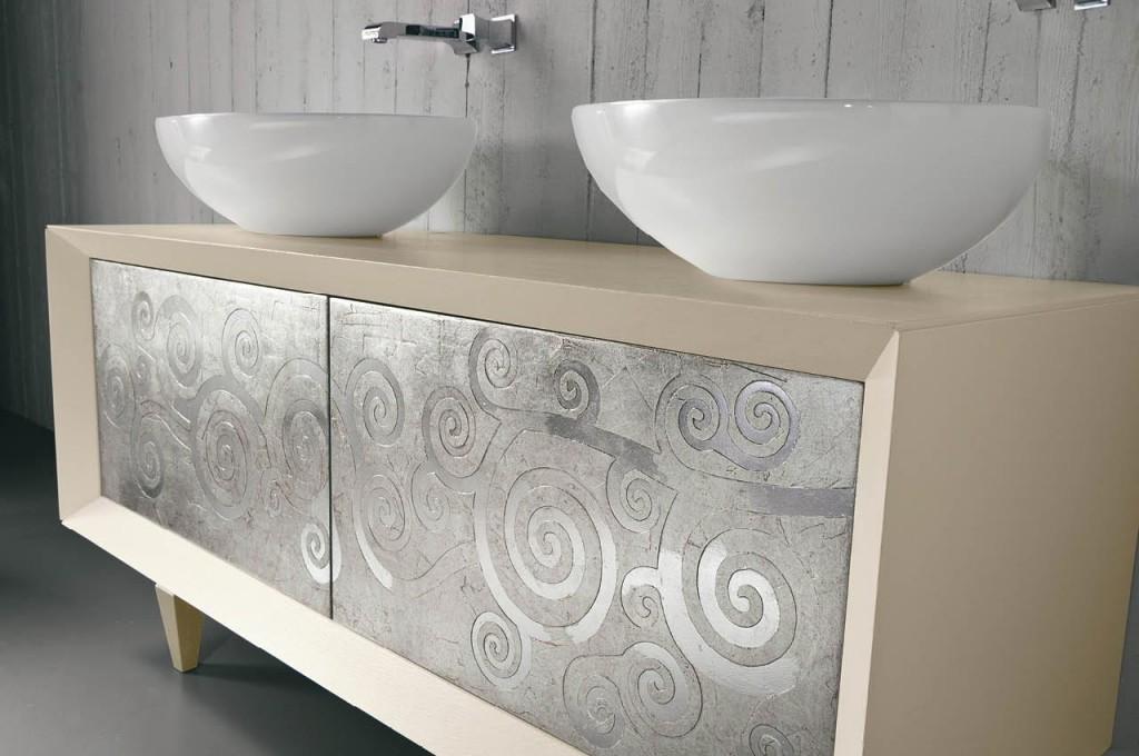 Eban i mobili che trasformano il tuo bagno bagnolandia - Lavandino bagno doppio ...