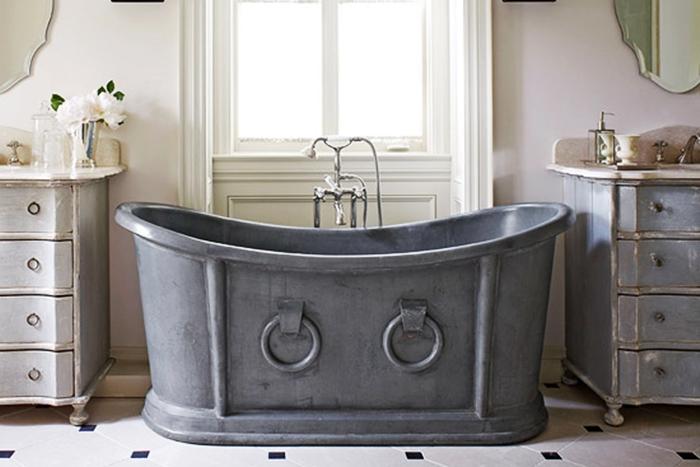 Come creare un bagno vintage bagnolandia - Vasche da bagno retro ...