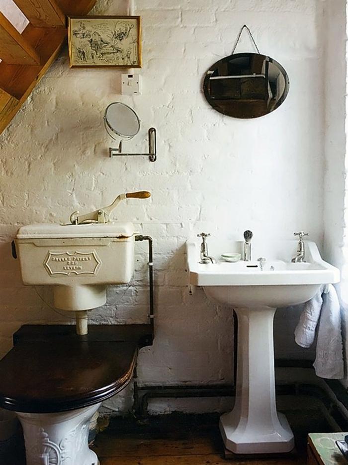 Come creare un bagno vintage bagnolandia - Bagni stile antico ...
