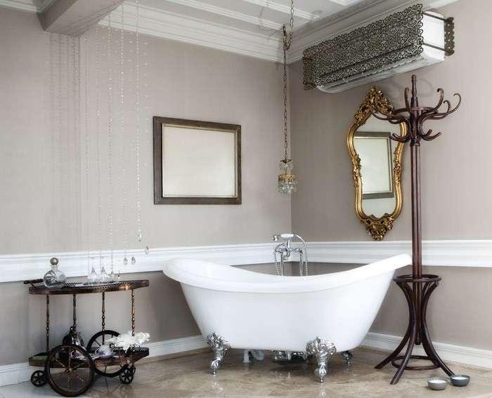 Come creare un bagno vintage bagnolandia - Arredo bagno vintage ...