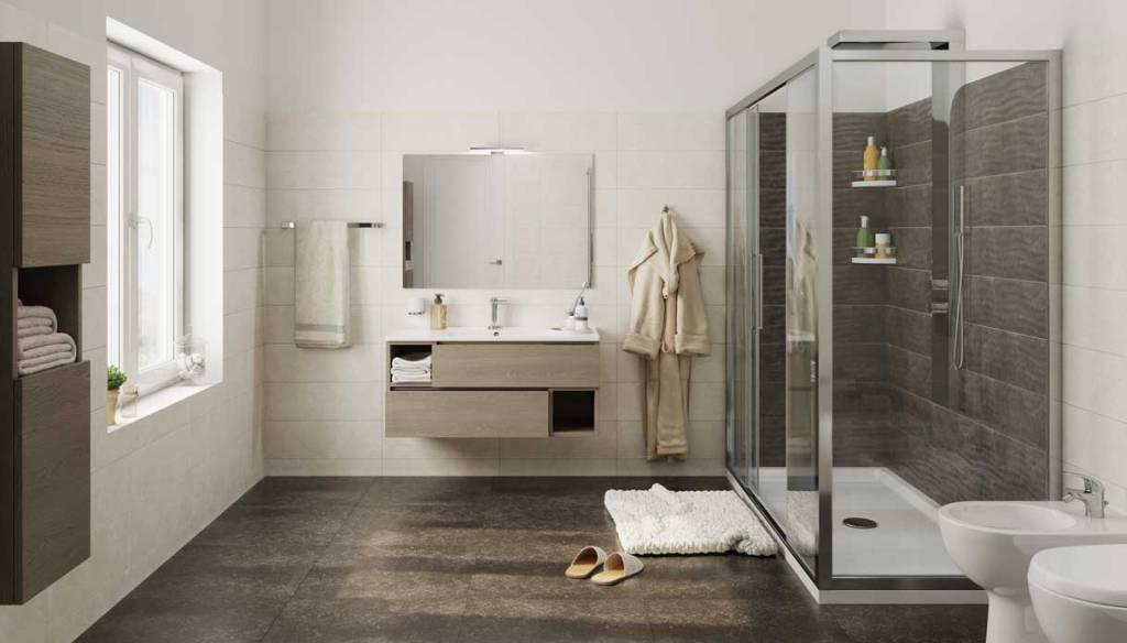 Bagno degli ospiti come arredarlo al meglio bagnolandia - Bagno arredamento piastrelle ...