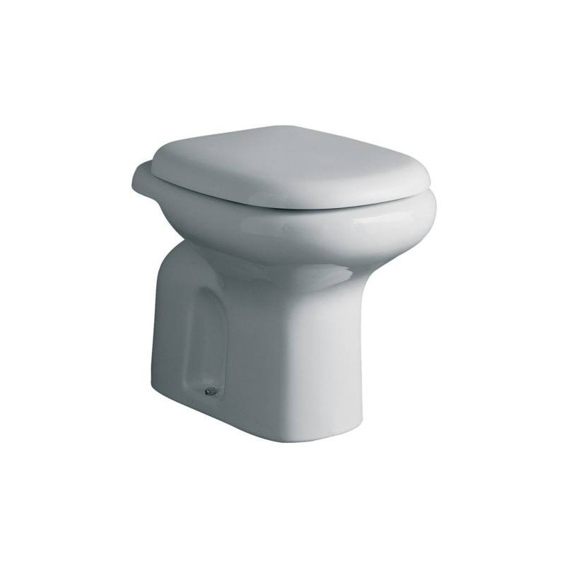 Ideal standard serie tesi classic wc scarico senza sedile for Lunette wc ideal standard