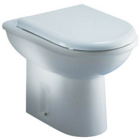Ideal standard clodia wc universale water saving 56x36 for Lunette wc ideal standard