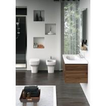 IDEAL STANDARD Tesi Design wc filo muro in ceramica sanitaria