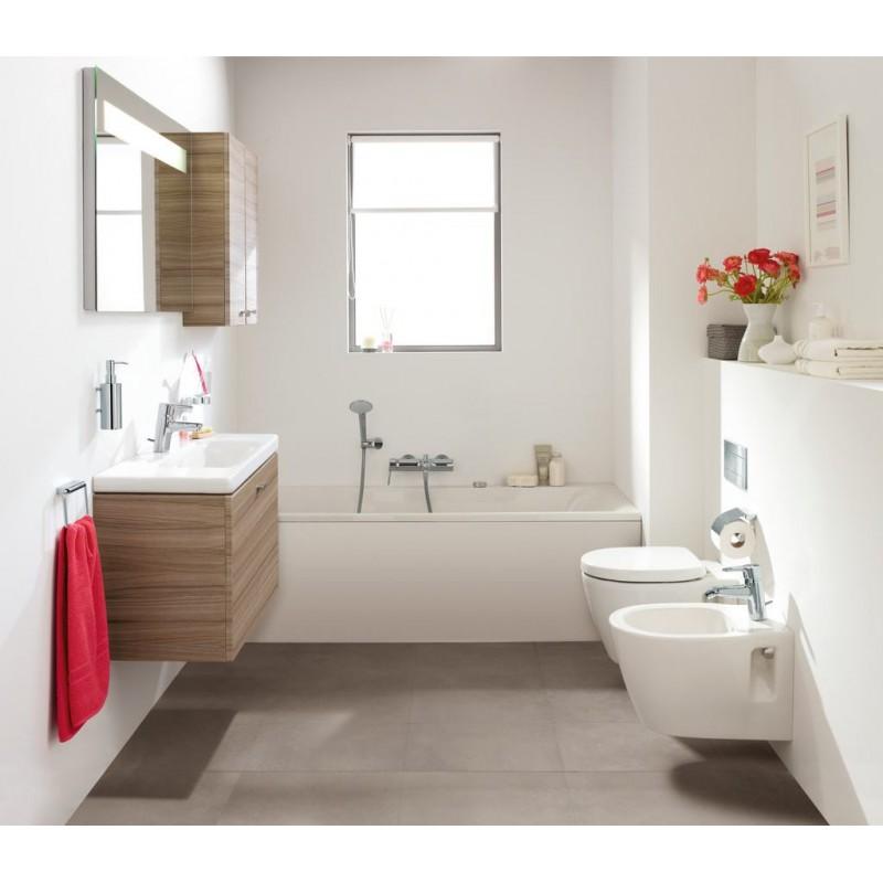 ideal standard connect space wc sospeso con sedile con chiusura rallentata bagnolandia. Black Bedroom Furniture Sets. Home Design Ideas