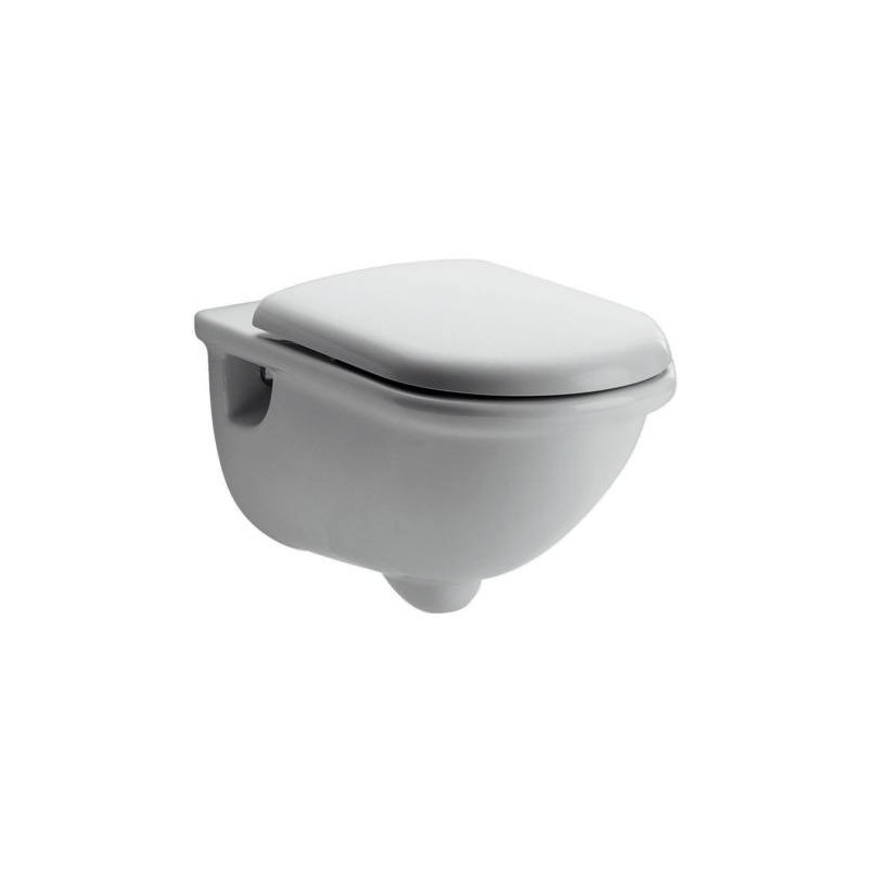 Ideal standard esedra wc sospeso scarico a parete con for Lunette wc ideal standard