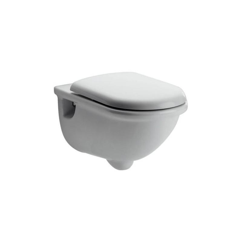 Ideal standard esedra wc sospeso scarico a parete con for Scarico wc a parete