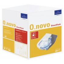 VILLEROY & BOCH O.Novo confezione wc sospeso directflush e sedile
