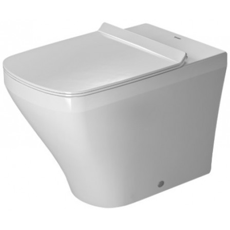 Durastyle wc a pavimento duravit filo parete a cacciata 37x57 for Duravit sanitari