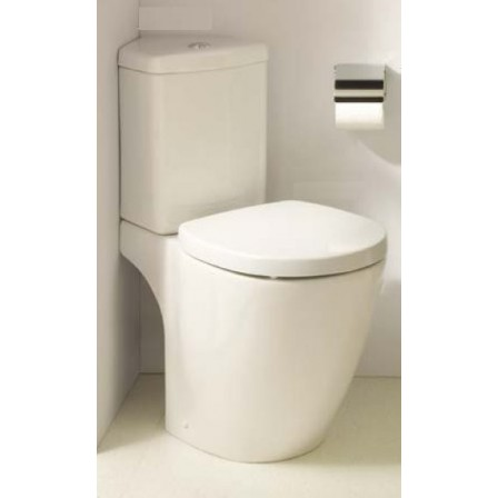 Connect space cassetta angolare con batteria double flush for Wc ad angolo