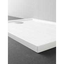 GLASS Decor Flat Plus piatto doccia rettangolare