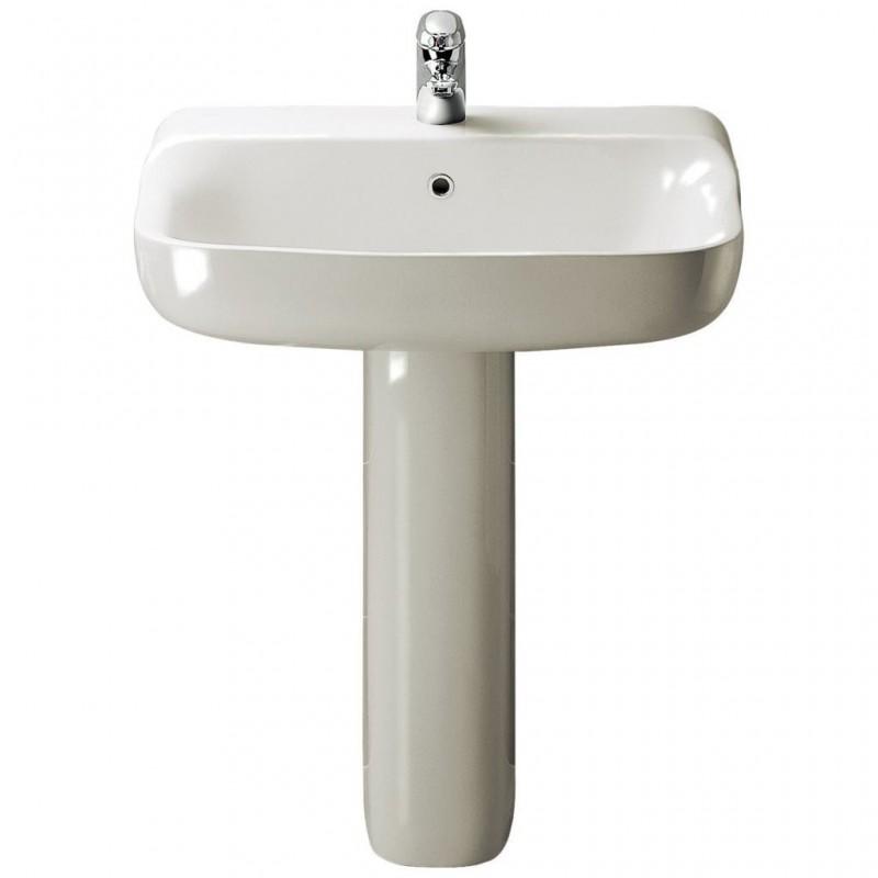 Ideal standard conca lavabo bacino rettificato bagnolandia for Lavandino ideal standard conca